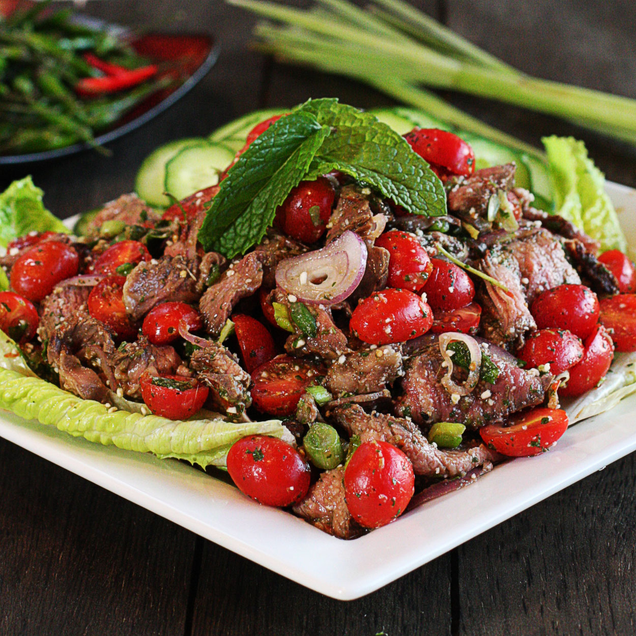 Thai Beef Salad - The Hopeless Housewife® - The Hopeless Housewife®