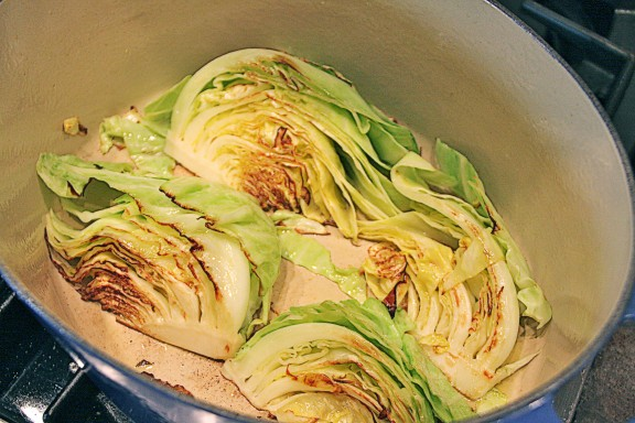 how to cook cabbage in the oven
