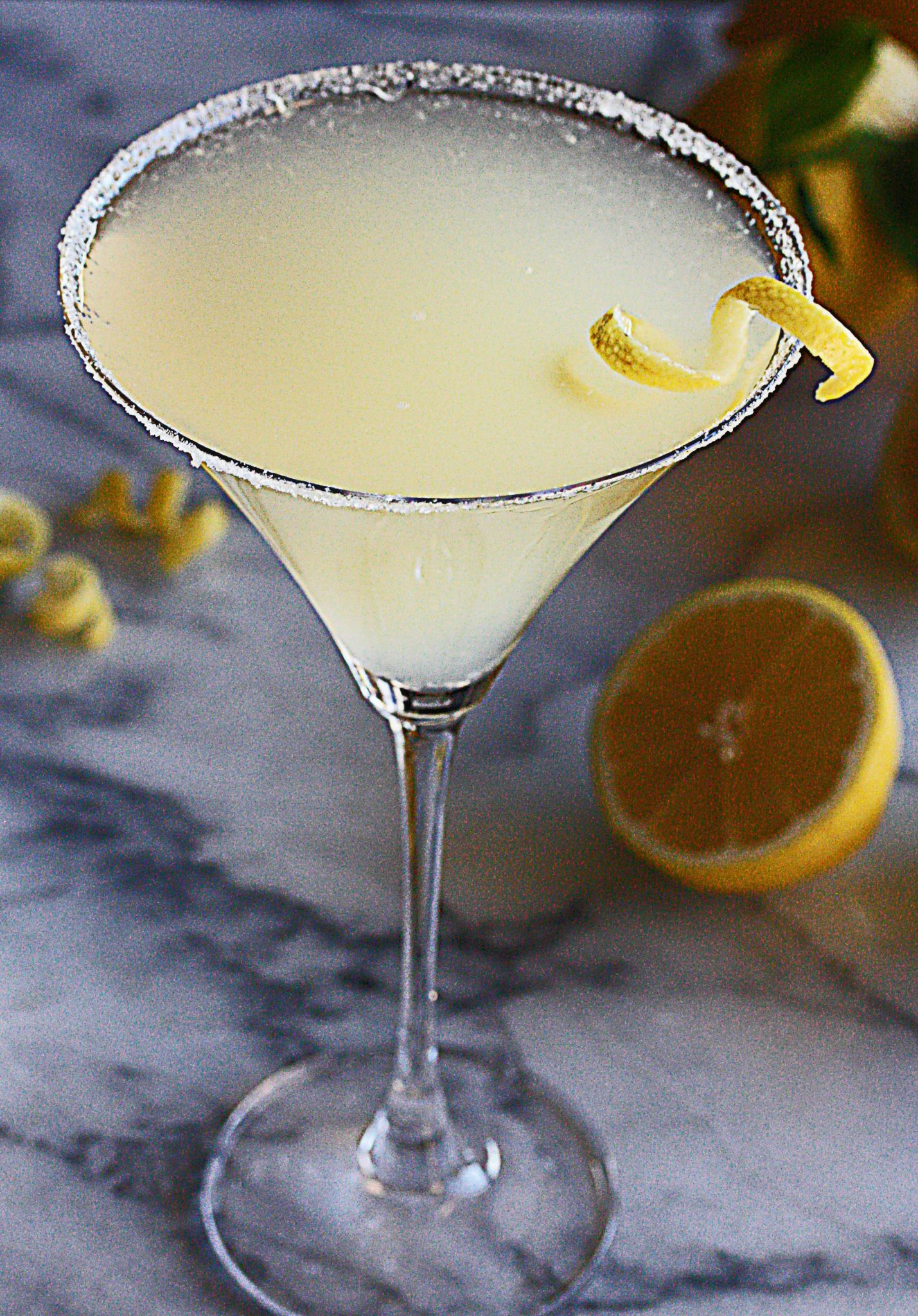 Frosty Lemon Drop Martini - The Hopeless Housewife - The Hopeless ...