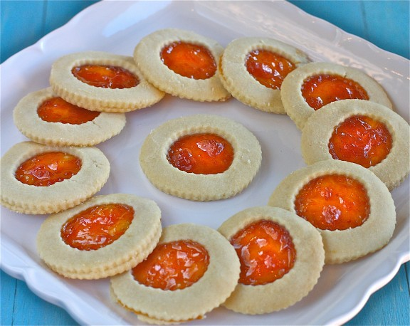 Apricot Shortbread Cookies - The Hopeless Housewife® - The Hopeless ...