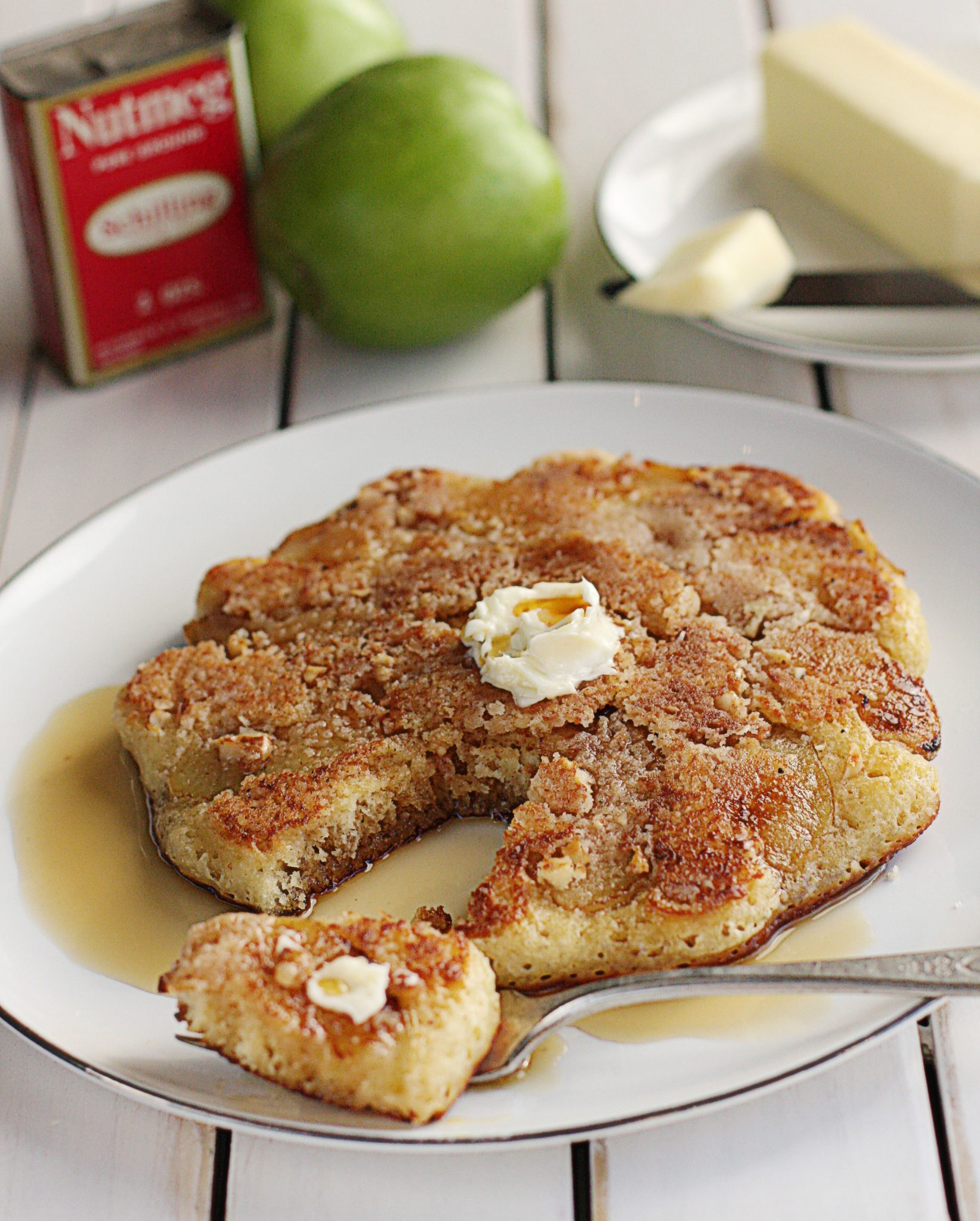 cinnamon apple pancake grain free apple cinnamon apple walnut pancakes ...