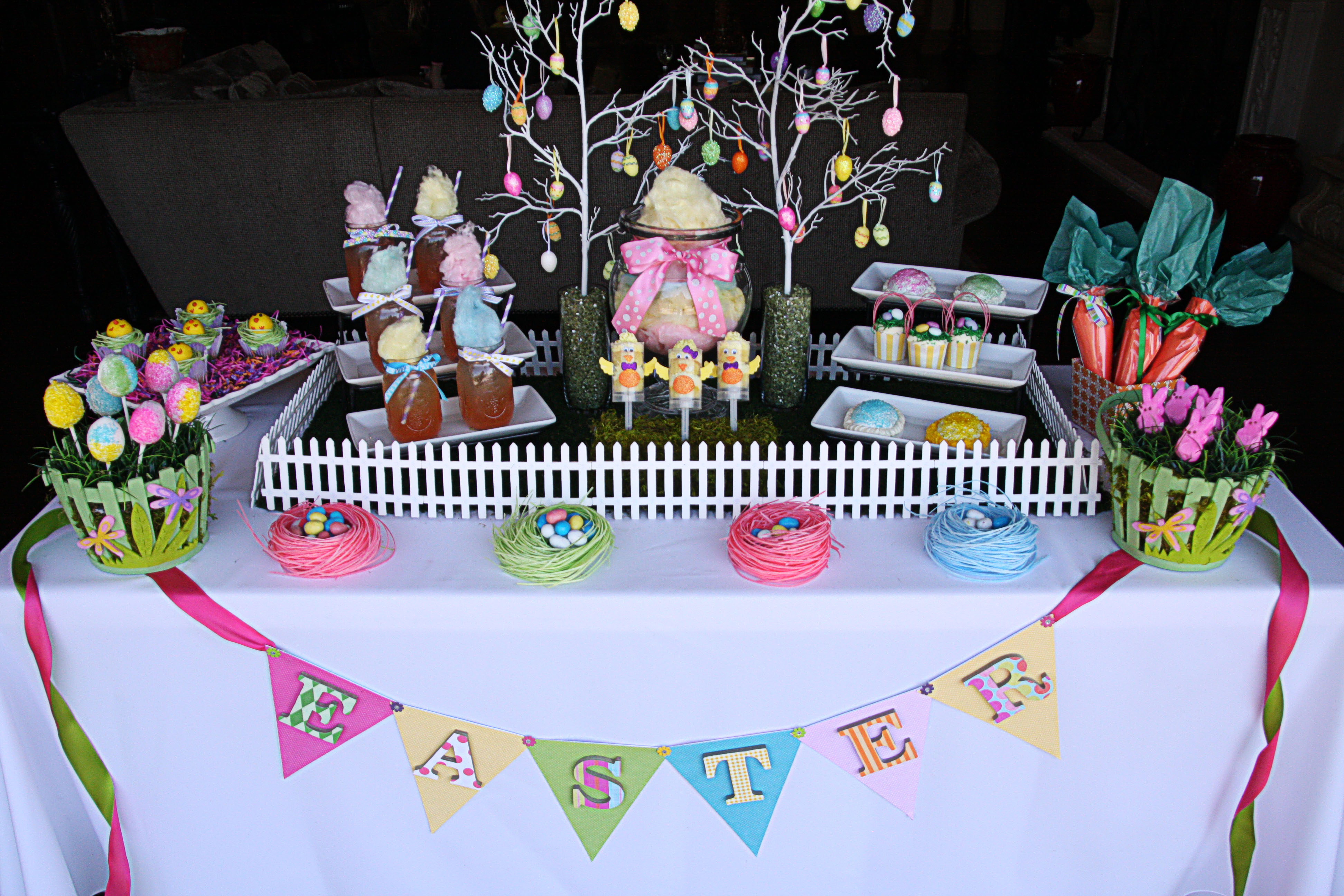 Easter Sweets Table