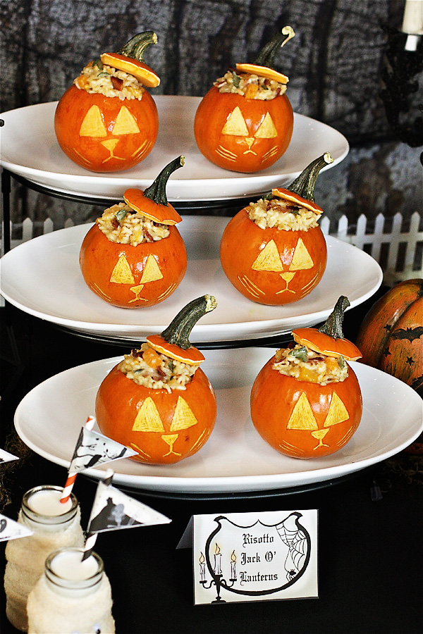 Risotto Jack O'Lanterns The Hopeless Housewife