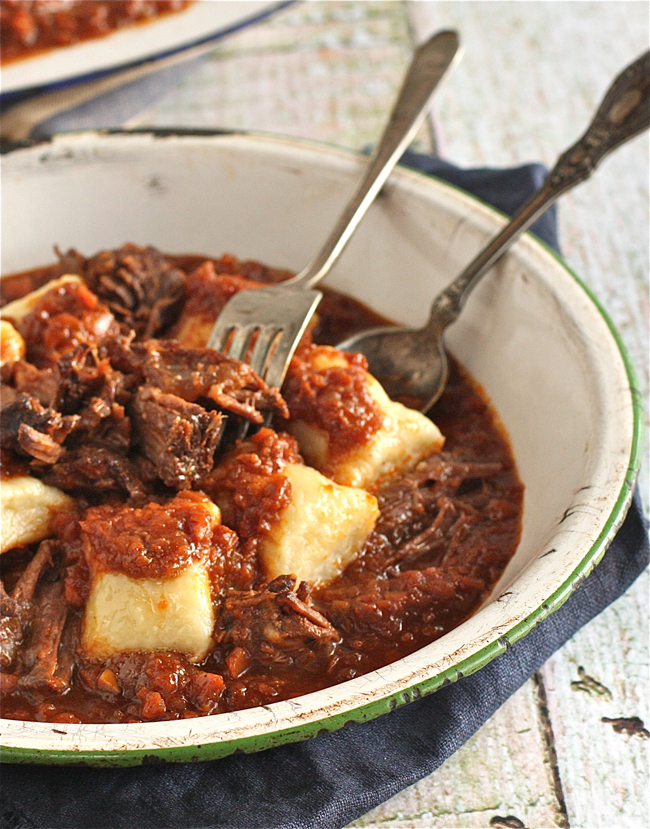 Short Rib and Ricotta Gnocchi | The Hopeless Housewife®