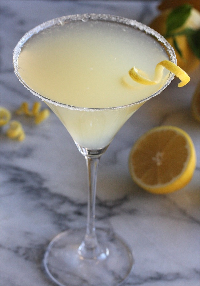 The Perfect Lemon Drop Martini | The Hopeless Housewife
