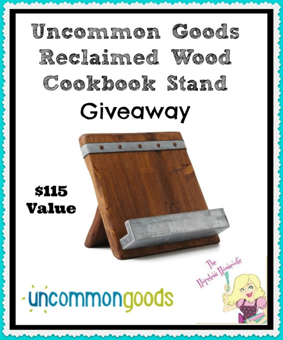Cookbook Stand Giveaway The Hopeless Housewife