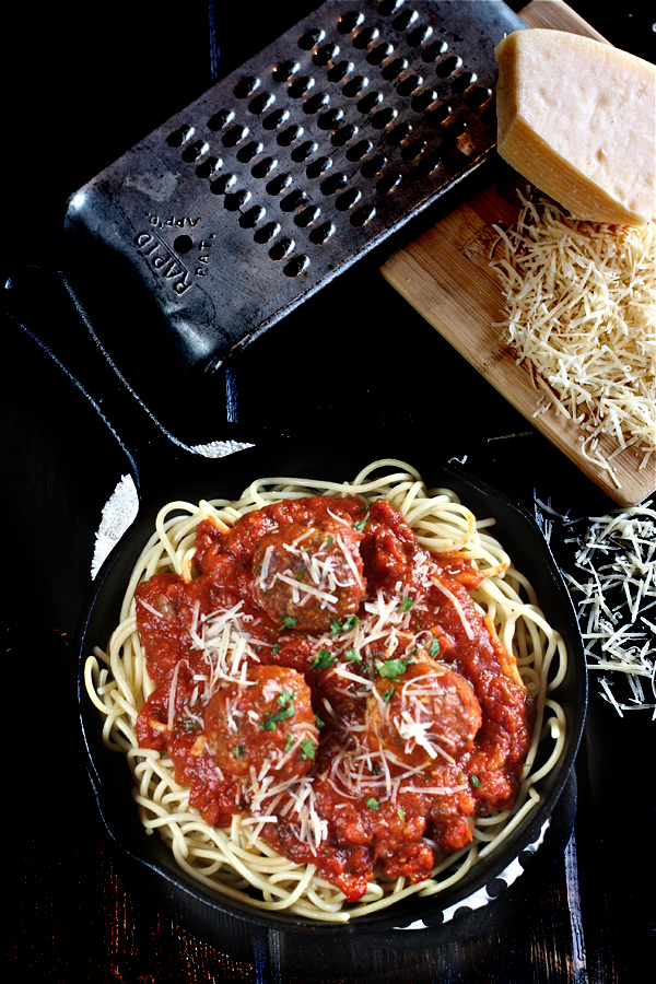 The Best Spaghetti and Meatballs 8 | The Hopeless Housewife®