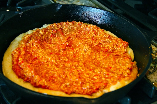 Turkey Sloppy Joe Skillet Pizza 3 | The Hopeless Housewife®
