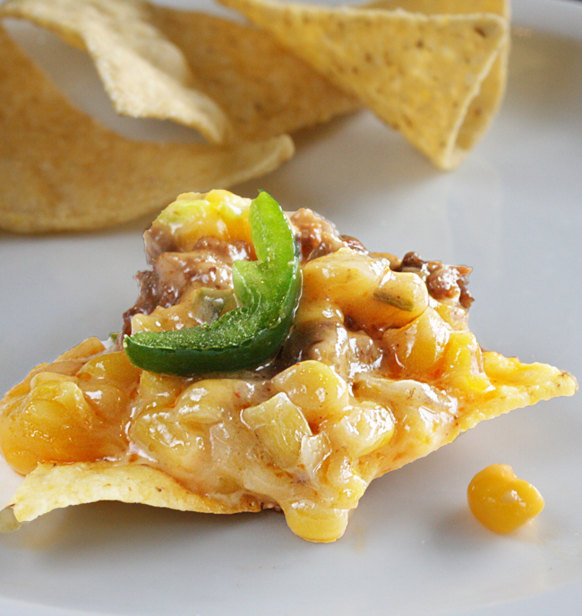 Cheesy Mexicorn Dip - The Hopeless Housewife®