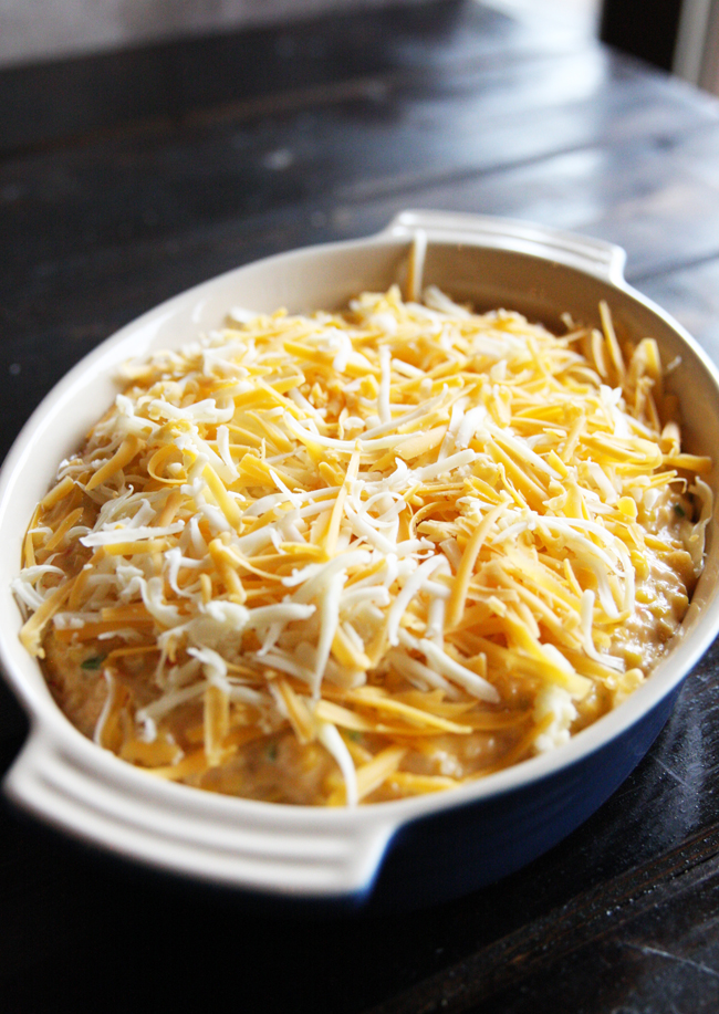 Cheesy Mexicorn Dip 2 | The Hopeless Housewife
