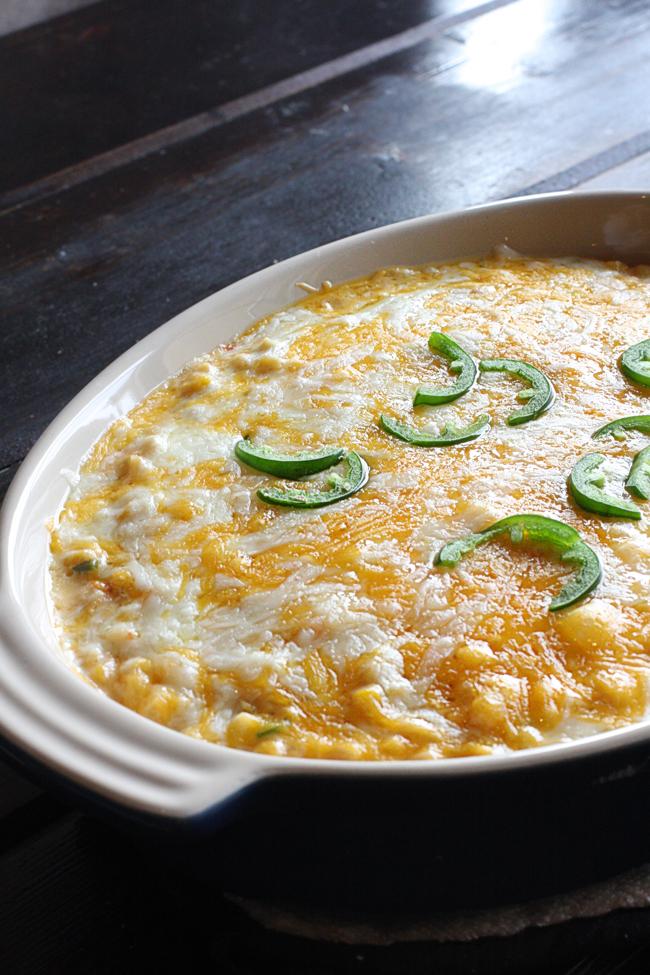Cheesy Mexicorn Taco Dip