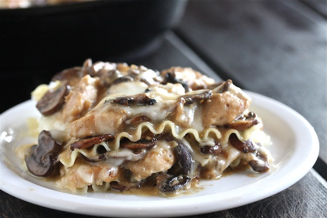 Chicken Stroganoff Skillet Lasagna + $435 Le Creuset Package Giveaway 2 | The Hopeless Housewife