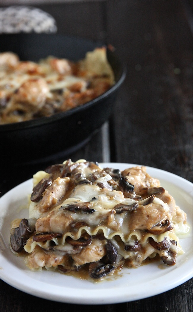 Chicken Stroganoff Skillet Lasagna +$435 Le Creuset Package Giveaway 5 | The Hopeless Housewife