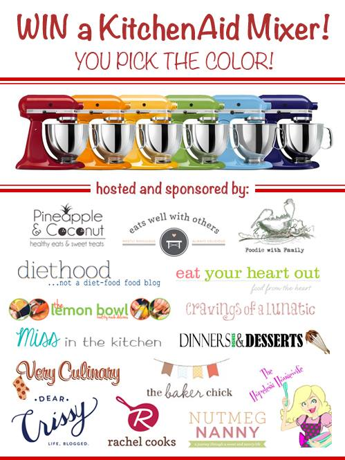 KitchenAid Giveaway! Ends 1/12!!