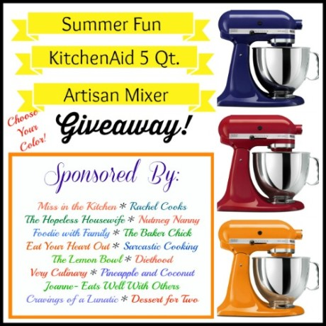 500 Summer Fun KitchenAid Giveaway