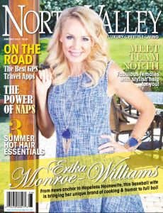 North Valley Magazine cover