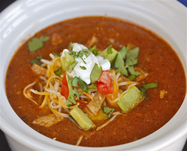 Tortilla Soup with Chicken