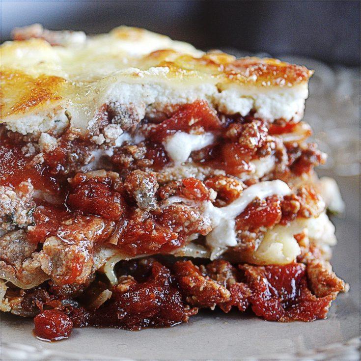 The Best Lasagna