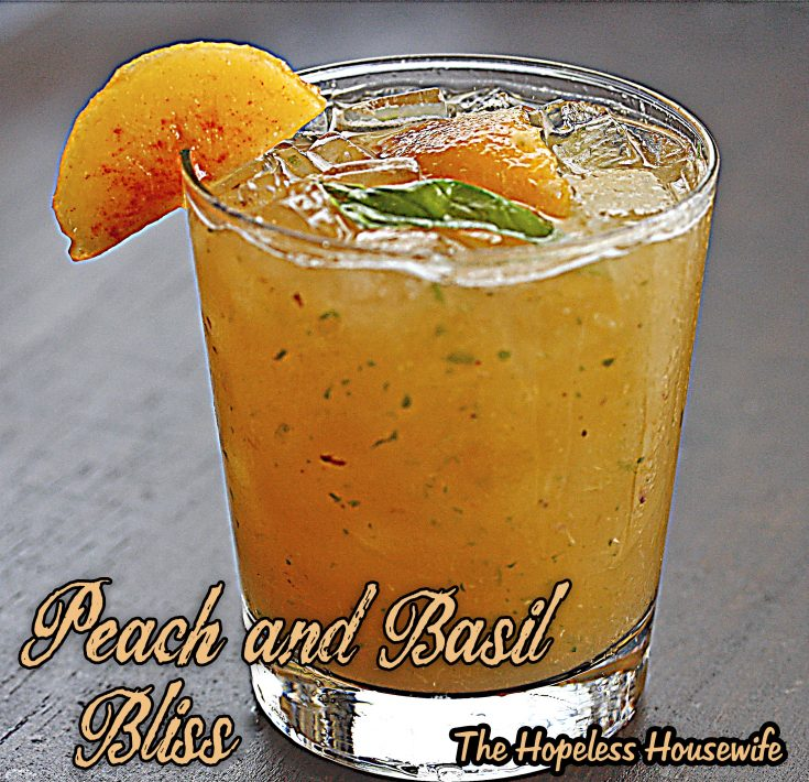 Peach and Basil Bliss