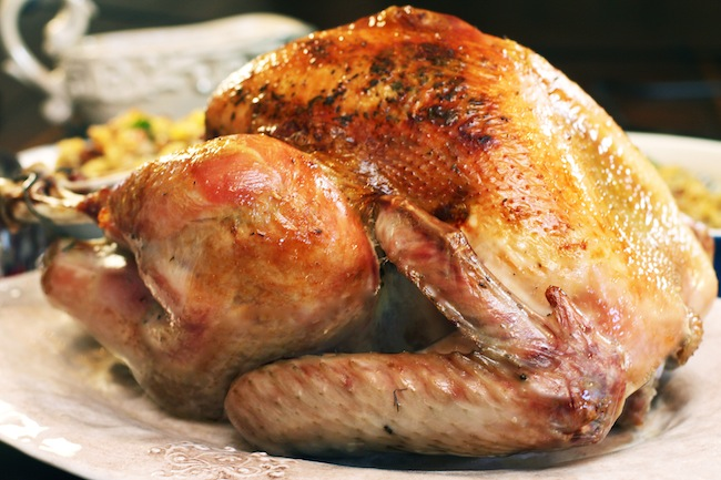 The Ultimate Moist Roast Turkey: Brined Herb Butter Turkey; Step by Step Instructions for the BEST Moist Roast Turkey!   The Hopeless Housewife