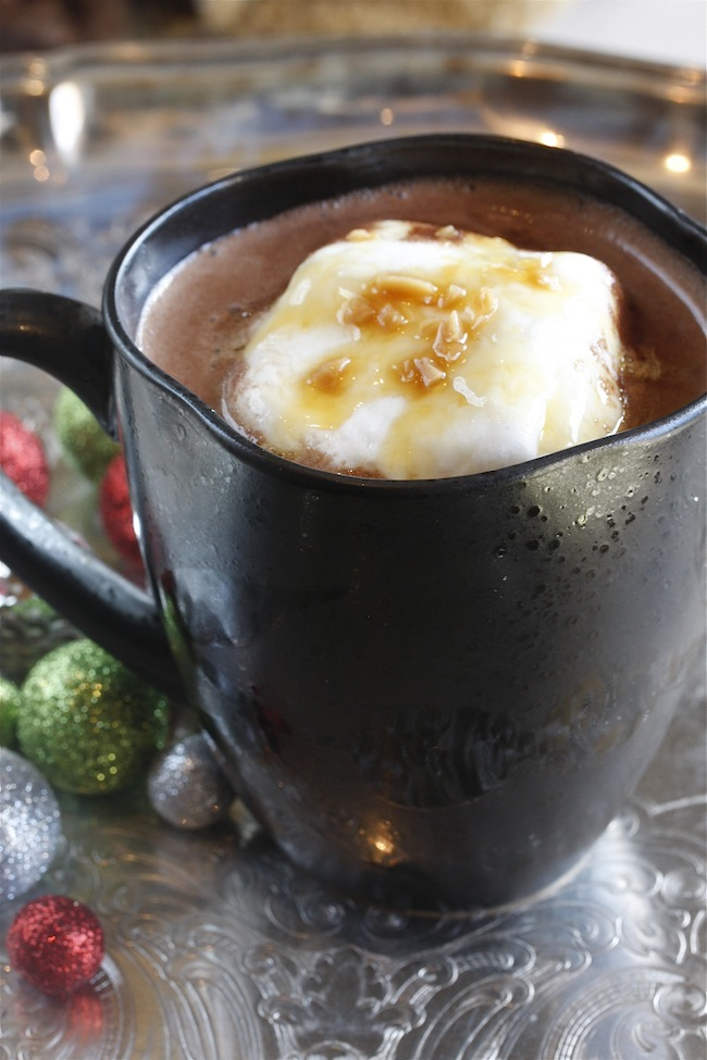 Campfire Cocoa with Butterscotch