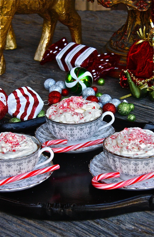 Candy Cane Cocoa | The Hopeless Housewife