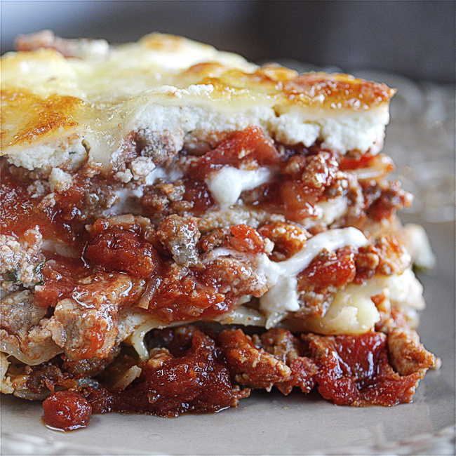 The BEST Lasagna | The Hopeless Housewife
