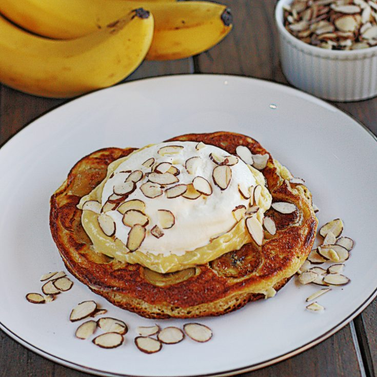 Banana Cream Pie Pancakes