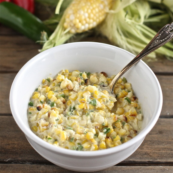 Jalapeno Creamed Corn The HopelessHousewife