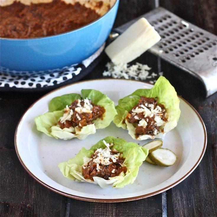 Short Rib Lettuce Wraps