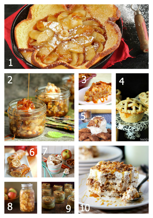 100+ Amazing Fall Recipes- Desserts: Apple Pies and More- The Hopeless Housewife