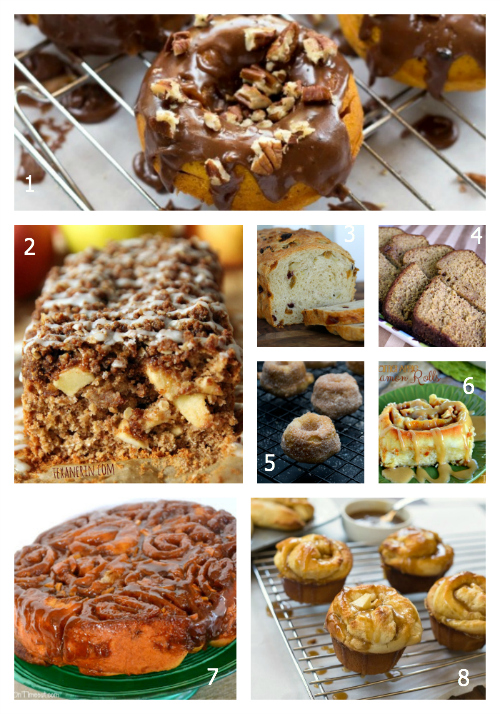 100+ Amazing Fall Foods: Donuts & Sticky Buns- The Hopeless Housewife