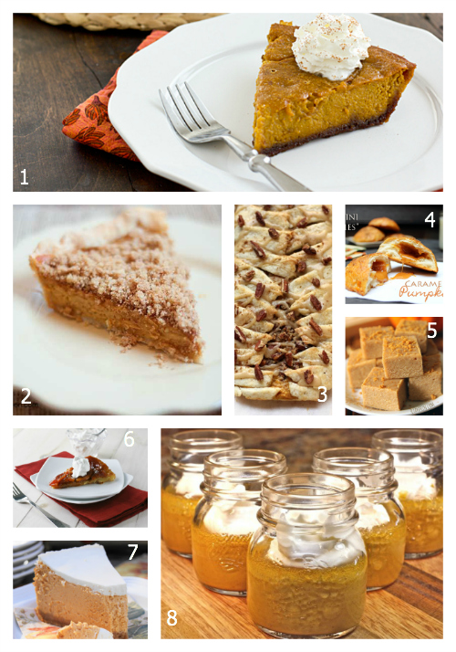 100+ Amazing Fall Foods: Pumpkin Pies, Tarts and Treats- The Hopeless Housewife