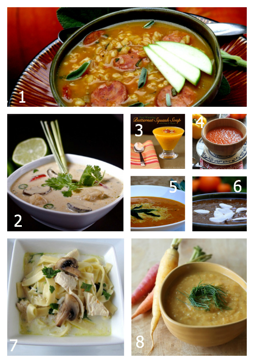 100+ Amazing Fall Foods: Soups- The Hopeless Housewife