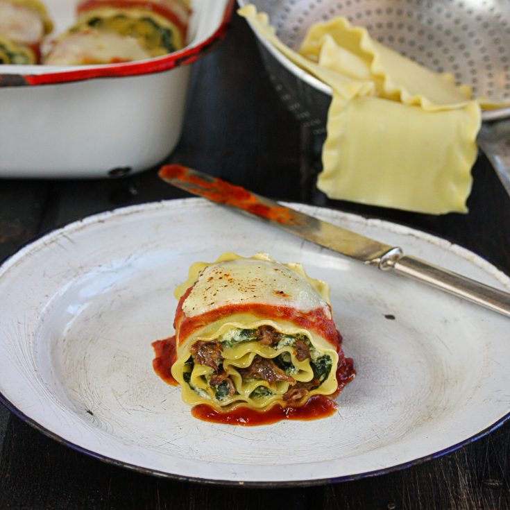 Short Rib Fever: Short Rib Lasagna Roll-Ups