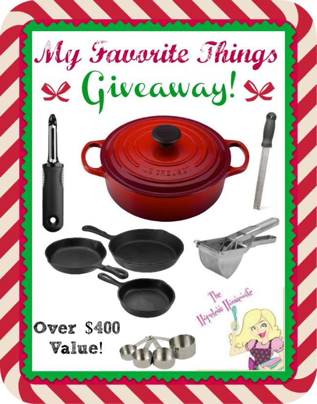 BIG Le Creuset+ Other Favorite Things Giveaway | The Hopeless Housewife