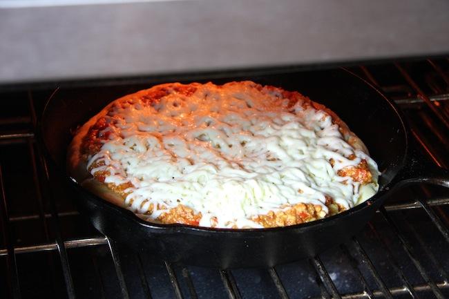 Turkey Sloppy Joe Skillet Pizza 10   The Hopeless Housewife®