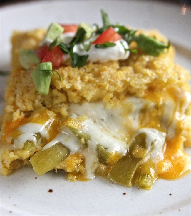 Cheesy Sweet Corn Tamale Pie | The Hopeless Housewife