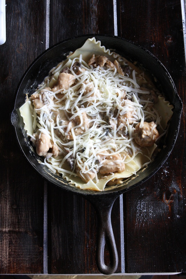 Chicken Stroganoff Skillet Lasagna +$435 Le Creuset Package Giveaway 6 | The Hopeless Housewife